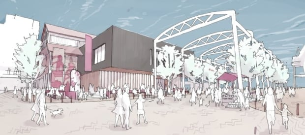North Vancouver Exterior Shipyards to Waterfront Development