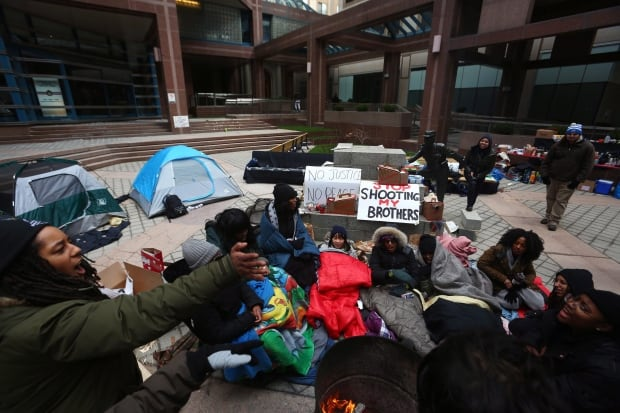 Black Lives Matter Tent City 20160321