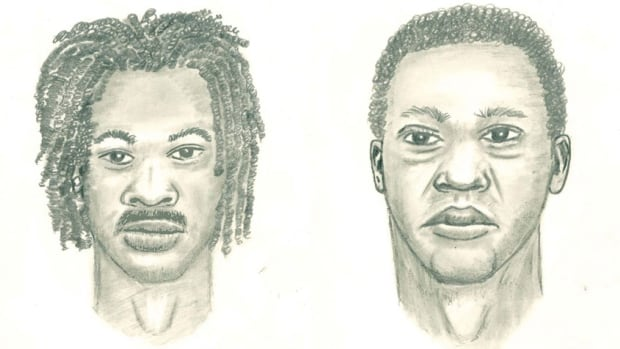 Nearly two months after Taylor Morrow-Flint was shot to death on Ritchie Street, Ottawa police released composite sketches of two persons of interest in the case.