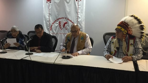 The FSIN meets with reporters today as the Beardy's and Okemasis First Nations prepare for a compensation hearing next week.