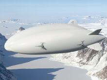Lockheed Martin airship