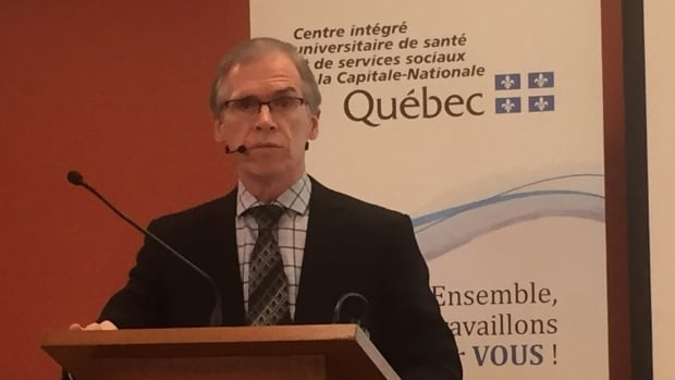 Dr. François Desbiens, the director of public health at the CIUSSS de la Capitale-Nationale, said the study into cancer incidence in Shannon should leave residents feeling reassured that they're not at greater risk for most types of cancer than any other Quebec resident.