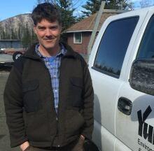 Shawn Taylor biologist with Environment Yukon