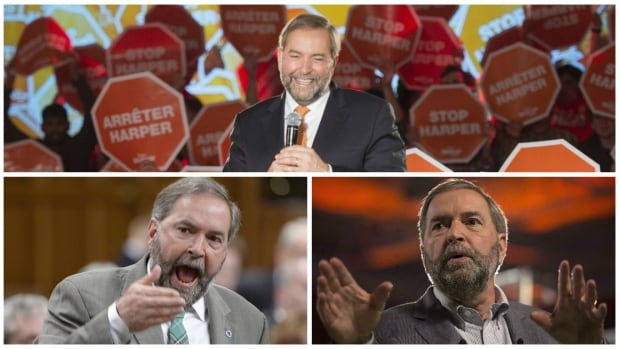 NDP Leader Tom Mulcair's leadership is on the line at this weekend's national convention where the party will have to decide if they are better off with their current leader, or without him.