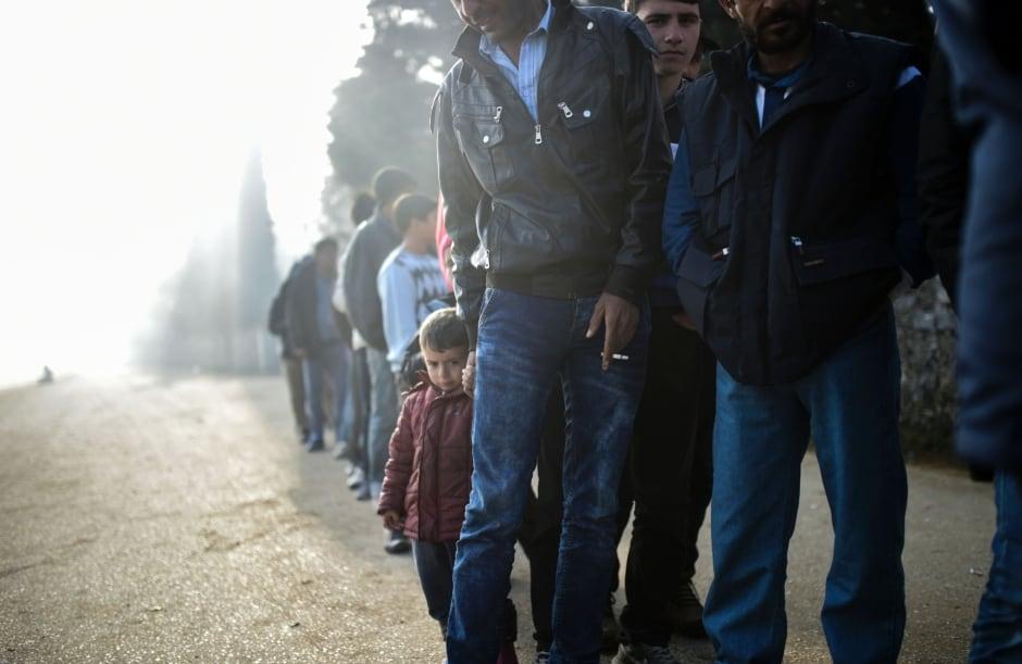 WIP Idomeni migrants trapped at Greek-Macedonian border April 5 2016