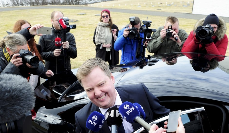 WIP PANAMA-Papers ICELAND-former PM Prime Minister Sigmundur David Gunnlaugsson April 5 2016