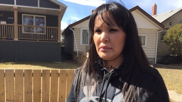 Shawna Oochoo is the co-founder and president of Regina's White Pony Lodge. She wants to set-up a program to help gang members leave that lifestyle behind.