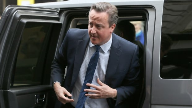 U.K. Prime Minister David Cameron arrives Saturday to address a Conservative forum in London, where he offered a mea culpa over his handling of Panama Papers revelations.