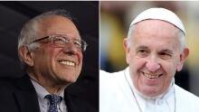 Bernie Sanders Pope Francis