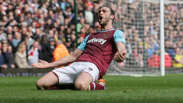 Arsenal's title dreams dampened by Andy Carroll hat trick