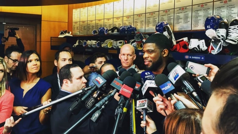 Montreal Canadiens clear their lockers, Bergevin, Molson