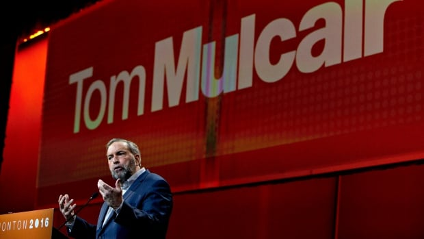 NDP Leader Tom Mulcair lost the left, and then his job.