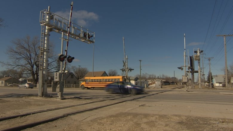 One of Winnipeg's busiest train crossings also one of
