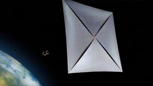 Breakthrough Starshot involves deploying small spacecraft powered by solar sails to carry equipment like cameras and communication equipment.