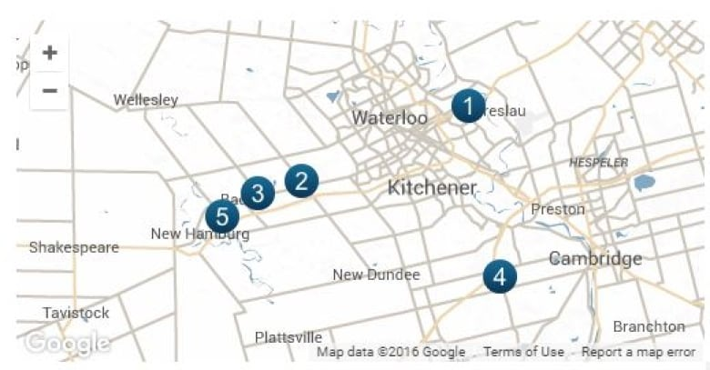 Waterloo Region home to 5 of Transport Canada's most dangerous rail on