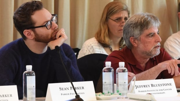 Sean Parker's institute aims to ensure members can easily share cancer research discoveries and tools.