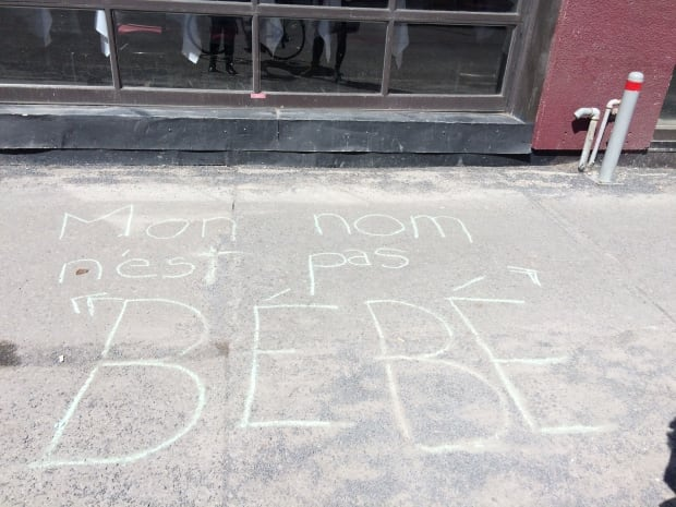 Anti-Street Harassment Week Chalk