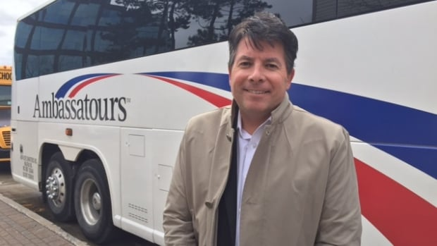 Dennis Campbell, CEO of Ambassatours Gray Line, says his company has been working all fall and winter to get ready for the start of the cruise ship season.
