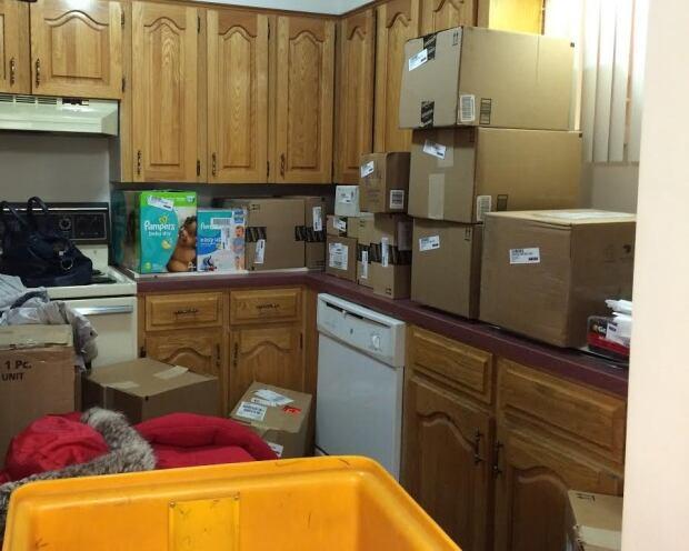 Iqaluit post office storage
