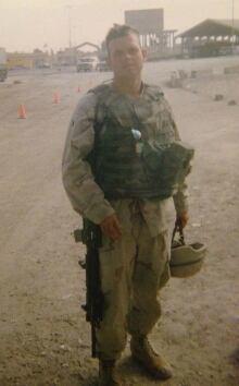 Joshua Key in Iraq