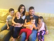 Joshua Key and family