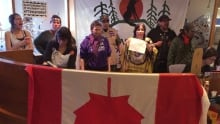 Activists for aboriginal rights