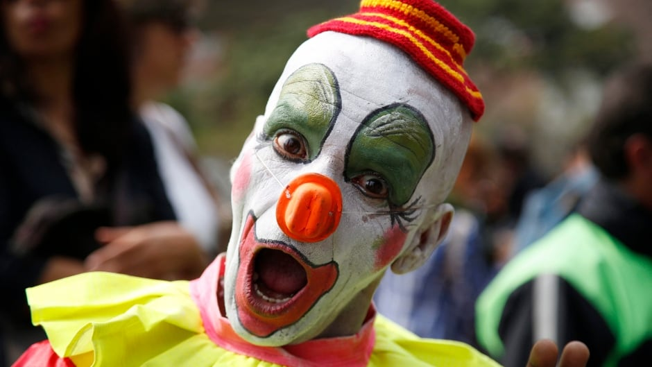 There are reports of clowns in the woods near South Carolina, though none have been photographed.
