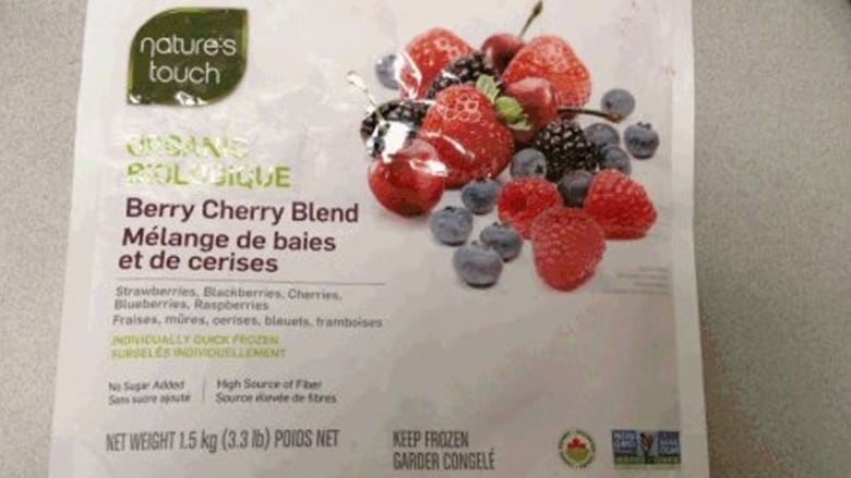 Nature's Touch Organic Berry Cherry Blend recalled over hep A concerns