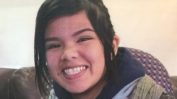 Ontario Provincial Police confirmed late Sunday that Azraya Kokopenace, 14, was found dead in Kenora, Ont. and foul play is not suspected.