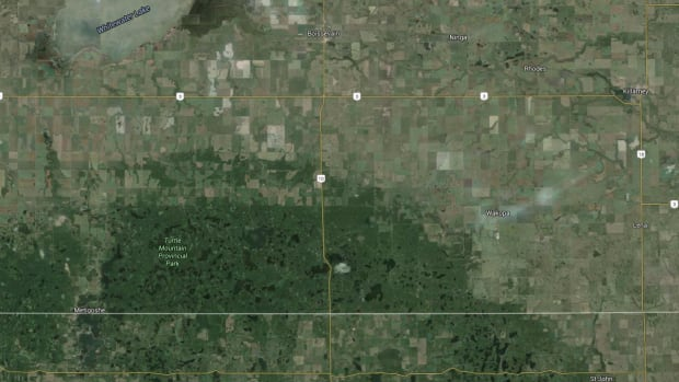 Manitobas Highway Between Highway And US Border Closed On - Us highway 10 map
