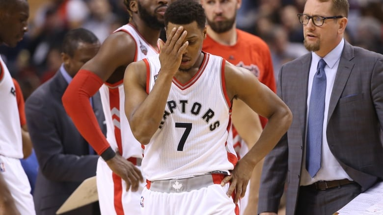 86cc9d03f275c Raptors  Kyle Lowry struggled against the Indiana Pacers in Game 1 of their  NBA playoff series