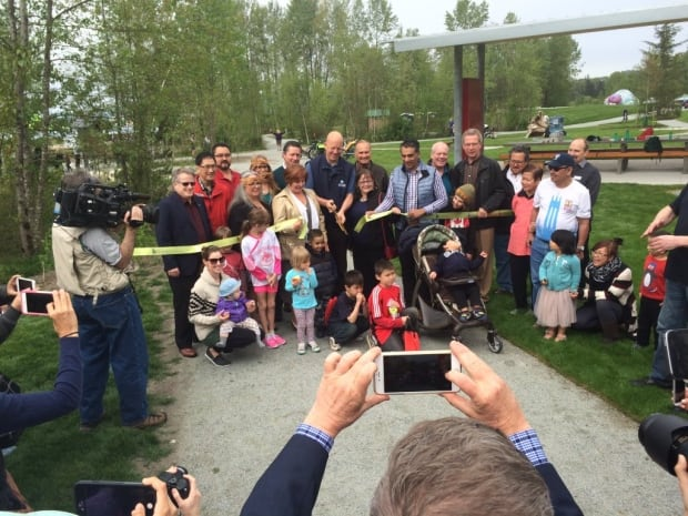 Surrey Bend Regional Park Ribbon Cutting