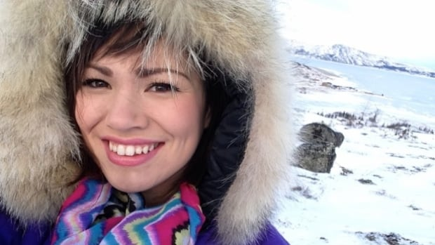 Caitlyn Baikie, a Nunatsiavut beneficiary from Nain, says the lingering effects of shame about Inuit identity must be confronted in order to save the Inuttitut language.