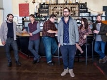 The Strumbellas performing at q's live at the Junos special.