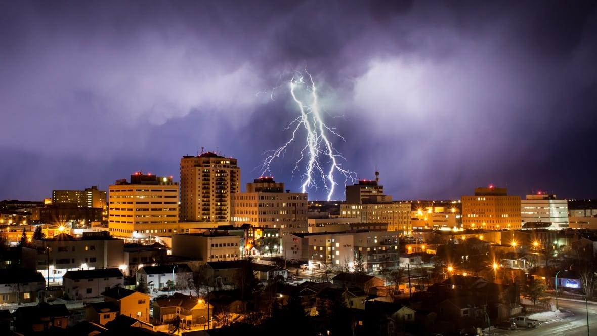 Rare April Lightning Storm Rocks Northwest Territories