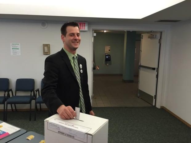 James Beddome votes
