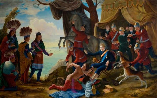 Kent Monkman - My Treaty is with the Crown