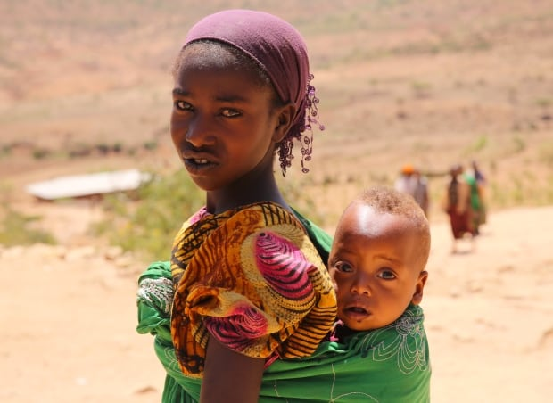 Ethiopian children in East Hararghe