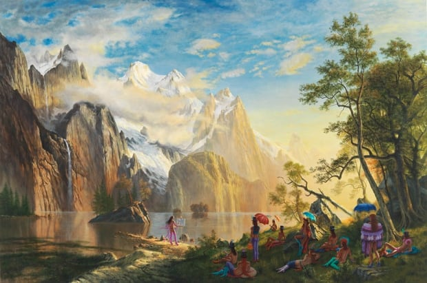 Kent Monkman - Sunday in the Park