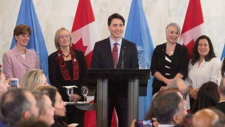 Justin Trudeau gender equality 20160316