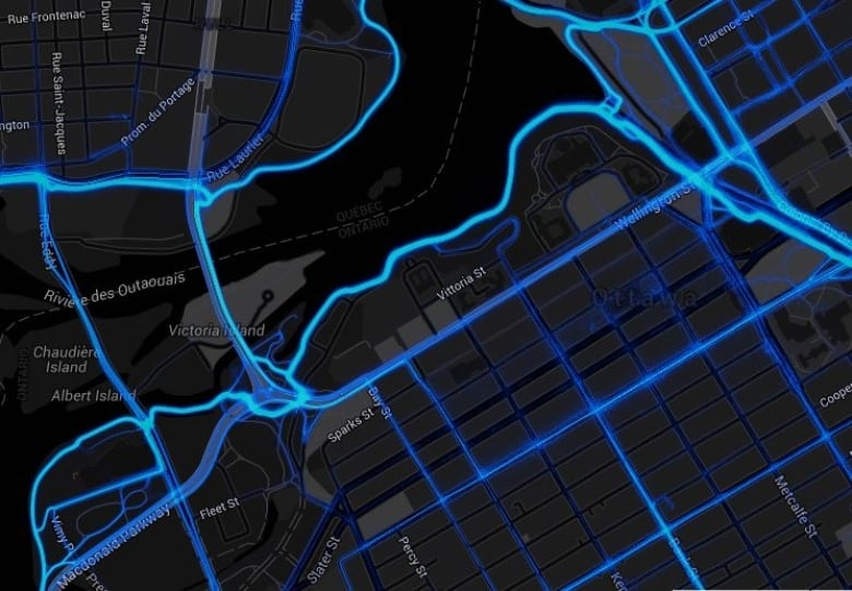 OttawaGatineau cyclists urged to map their journeys CBC News
