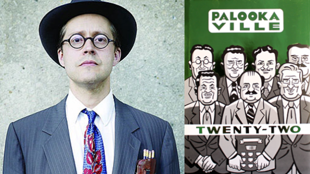 Award-winning Canadian cartoonist Seth has designed a new work of art for the city of Guelph, where he lives. Earlier this year Seth was nominated for a Doug Wright Award for his graphic novel, Palookaville #22.