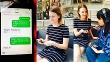 Sook-Yin Lee texting relationship