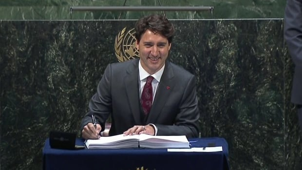 Prime Minister Justin Trudeau is expected to present himself as a significant progressive leader on the world stage, making the case that the Security Council needs Canada's perspective around the table.