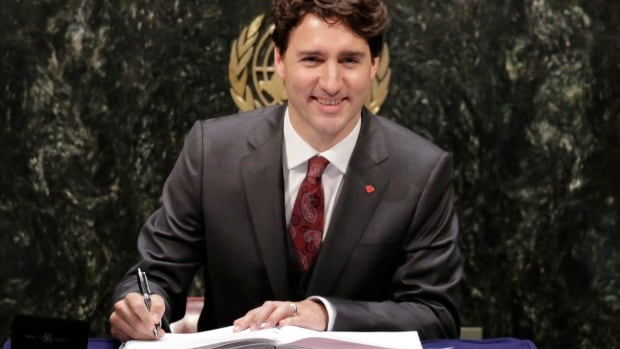 Prime Minister Justin Trudeau will speak Tuesday at the United Nations General Assembly in New York.