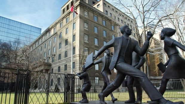 Manulife (Toronto headquarters shown) has become the first insurer in Canada to offer life insurance to people living with the Human Immunodeficiency Virus.