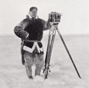Leo Hansen, photographer with Knud Rasmussen expedition