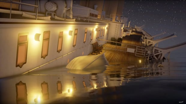 real-time titanic simulation