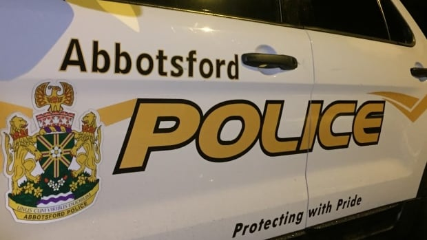 Abbotsford police officers found the body just after 11:30 p.m. on Friday.