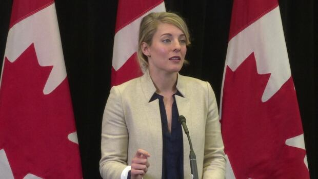 Melanie Joly NCC Victims of Communism Memorial